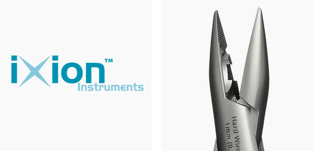 ixion logo and instrument