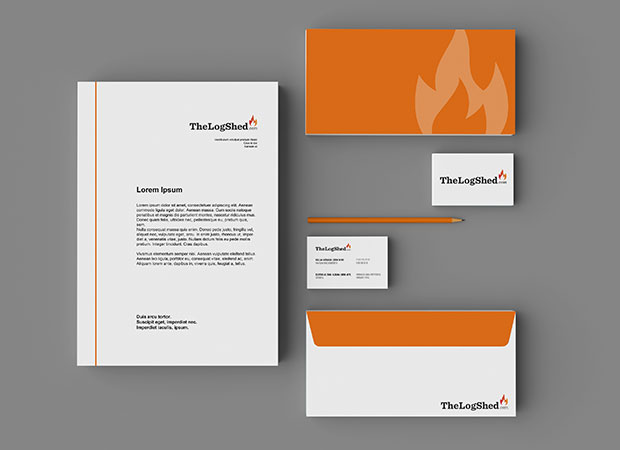 the log shed letterheads