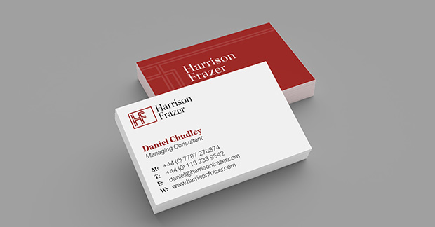 harrison frazer business cards