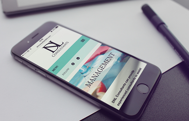 dnl consultants mobile view