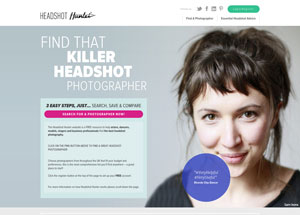 headshot hunter website screenshot