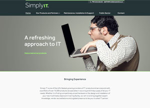 simply it website design