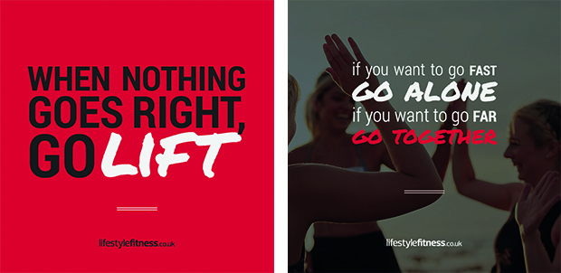 images of inspirational gym themed quotations
