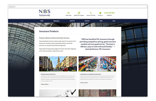 nationwide broker services in a browser