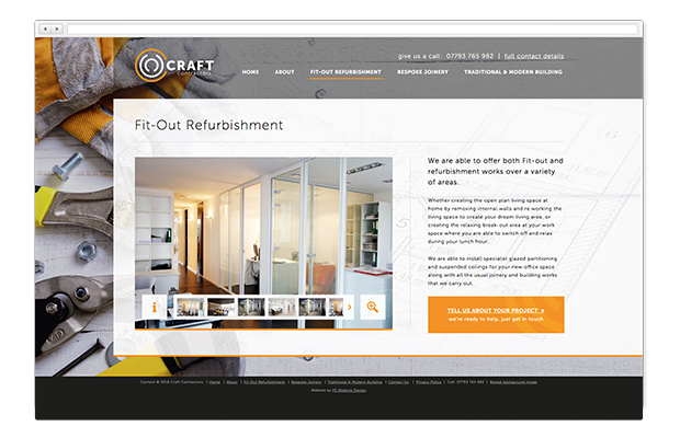 craft contractors website