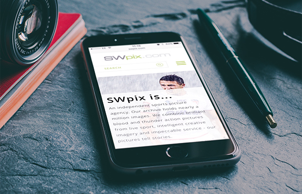 sw pix on a mobile device