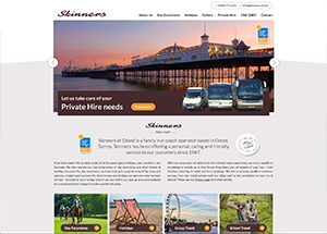 skinners travel website