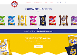 seabrook crisps website example